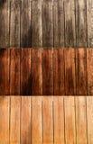 Vecchia priorità bassa di legno della plancia Fotografia Stock