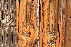 Vecchia priorità bassa di legno della rete fissa Immagini Stock