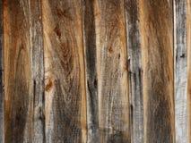 Vecchia priorità bassa di legno delle plance Fotografie Stock