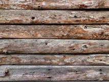 Vecchia priorità bassa di legno delle plance Fotografie Stock Libere da Diritti