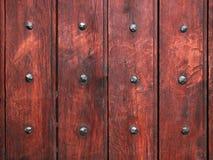 Vecchia priorità bassa di legno delle plance Fotografia Stock Libera da Diritti