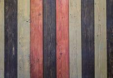 Vecchia priorità bassa di legno di Grunge Il legno duro ha colorato il pavimento o tavola o porta o struttura di celling closeup  Fotografie Stock