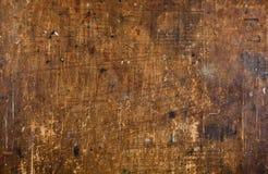 Vecchia priorità bassa di legno graffiata di Grunge Fotografia Stock Libera da Diritti