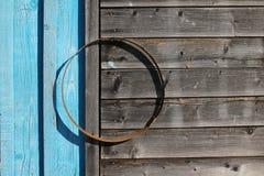 Vecchia priorità bassa di legno naturale Fotografia Stock