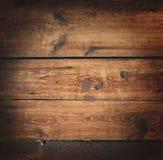 Vecchia priorità bassa di legno ricca di struttura del granulo con i nodi Fotografie Stock