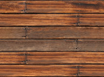 Vecchia priorità bassa di legno senza giunte della plancia Immagine Stock Libera da Diritti