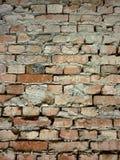 Vecchia priorità bassa di struttura del muro di mattoni fotografia stock