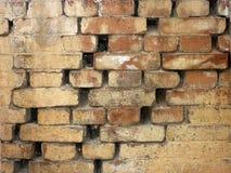 Vecchia priorità bassa di struttura del muro di mattoni immagine stock