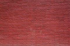Vecchia priorità bassa rossa del muro di mattoni Fotografie Stock Libere da Diritti