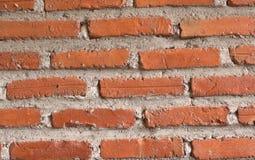 Vecchia priorità bassa rossa del muro di mattoni Immagine Stock Libera da Diritti