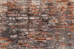 Vecchia priorità bassa rossa di struttura del muro di mattoni Fotografie Stock