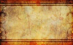 Vecchia priorità bassa della tela di canapa di Grunge Fotografia Stock