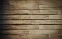 Vecchia priorità bassa di legno della plancia Fotografia Stock Libera da Diritti