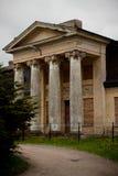 Vecchia proprietà terriera abbandonata Immagine Stock