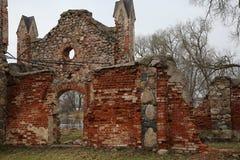 Vecchia proprietà terriera del diciannovesimo secolo Immagine Stock