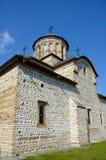 Vecchia prospettiva della chiesa Fotografie Stock Libere da Diritti