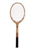 Vecchia racchetta di tennis Fotografia Stock Libera da Diritti