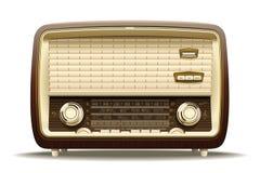 Vecchia radio Immagine Stock