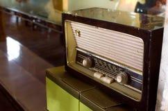 Vecchia radio dell'annata Immagine Stock