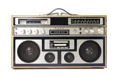 Vecchia radio di legno Immagini Stock Libere da Diritti