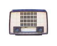 Vecchia radio isolata illustrazione di stock
