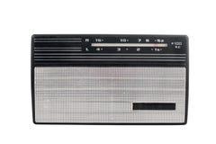 Vecchia radio sovietica portatile fotografia stock libera da diritti