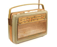 Vecchia radio sporca Immagine Stock Libera da Diritti
