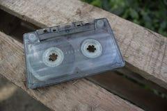 Vecchia radiolina per i manti della musica Fotografie Stock Libere da Diritti