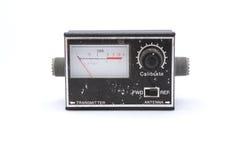 Vecchia radiotrasmittente nera Immagini Stock