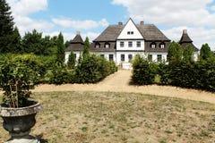 Vecchia residenza polacca - casa padronale Fotografia Stock Libera da Diritti