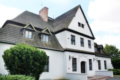Vecchia residenza polacca - casa padronale Immagini Stock