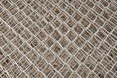 Vecchia rete d'acciaio Immagini Stock Libere da Diritti