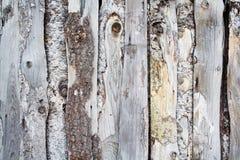Vecchia rete fissa di legno Immagini Stock
