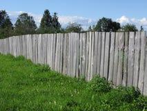 Vecchia rete fissa di legno Immagini Stock Libere da Diritti