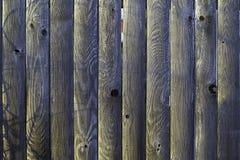 Vecchia rete fissa di legno Fotografie Stock Libere da Diritti