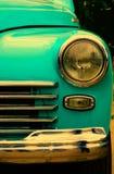 Vecchia retro automobile sulla mostra Immagini Stock