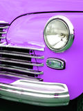 Vecchia retro automobile sulla mostra Immagine Stock Libera da Diritti