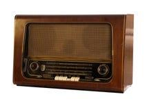 Vecchia retro radio Fotografie Stock