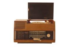 Vecchia retro radio rotta Fotografia Stock Libera da Diritti