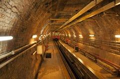 Vecchia riga del tunnel fotografia stock libera da diritti