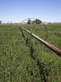 Vecchia riga di irrigazione Immagine Stock