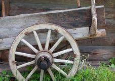 Vecchia rotella Fotografie Stock Libere da Diritti