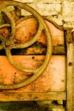 Vecchia rotella fotografia stock libera da diritti