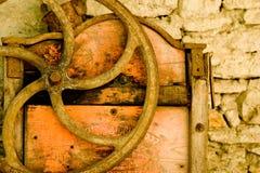 Vecchia rotella fotografia stock