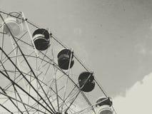 Vecchia rotella di ferris Fotografie Stock Libere da Diritti