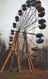 Vecchia rotella di ferris Fotografia Stock