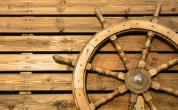Vecchia rotella di legno Fotografie Stock