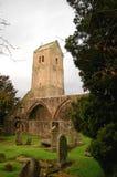 Vecchia rovina della chiesa di Muthill, Scozia Immagine Stock