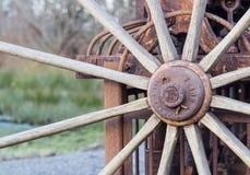 Vecchia ruota. Fotografia Stock