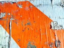 Vecchia sbucciatura, parete lacerata Immagine Stock